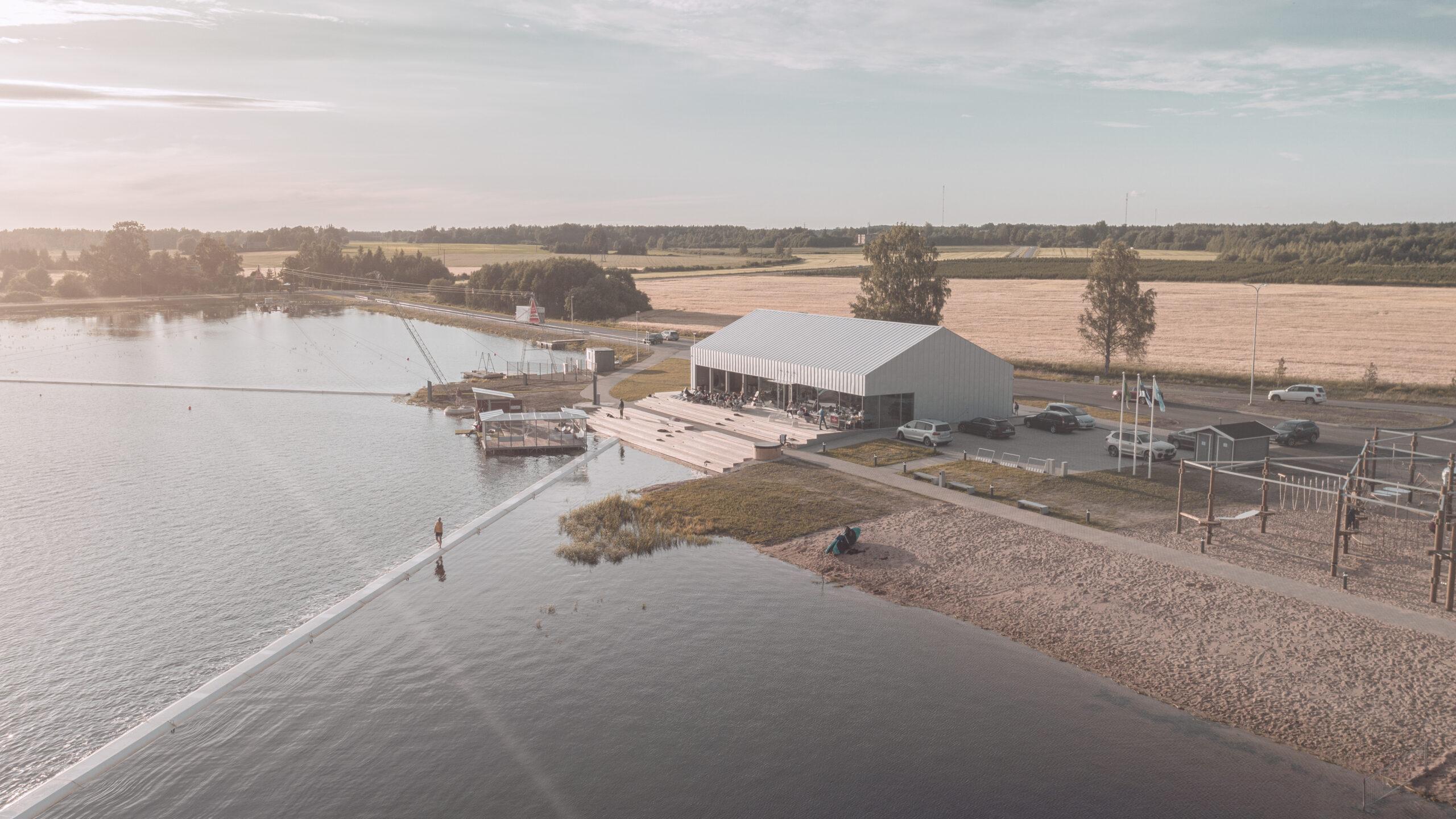 Wakepark Põltsamaal Kamari järvel