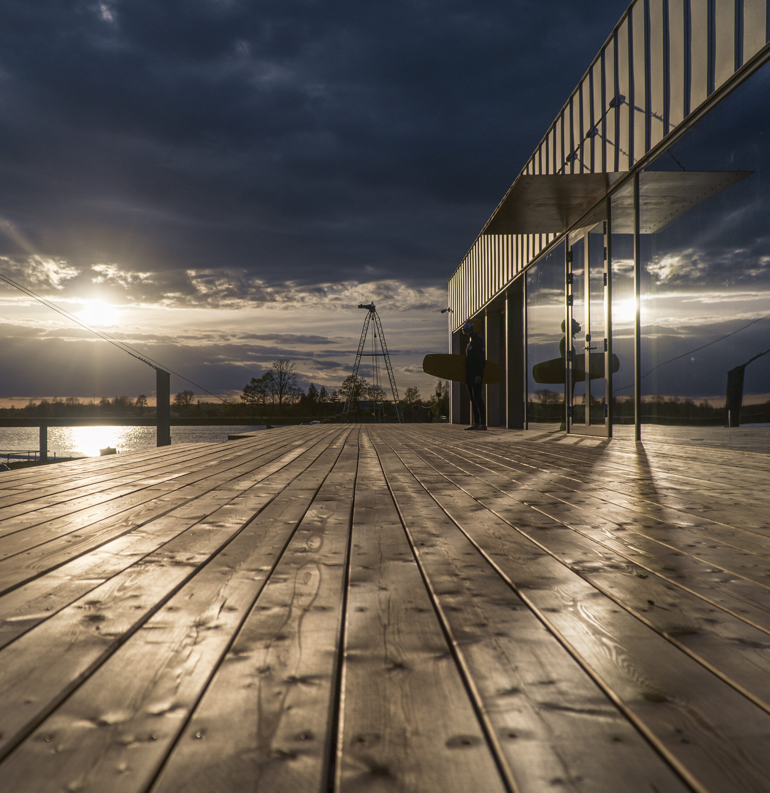 Põltsamaa veelauakeskuse Wpark terrass